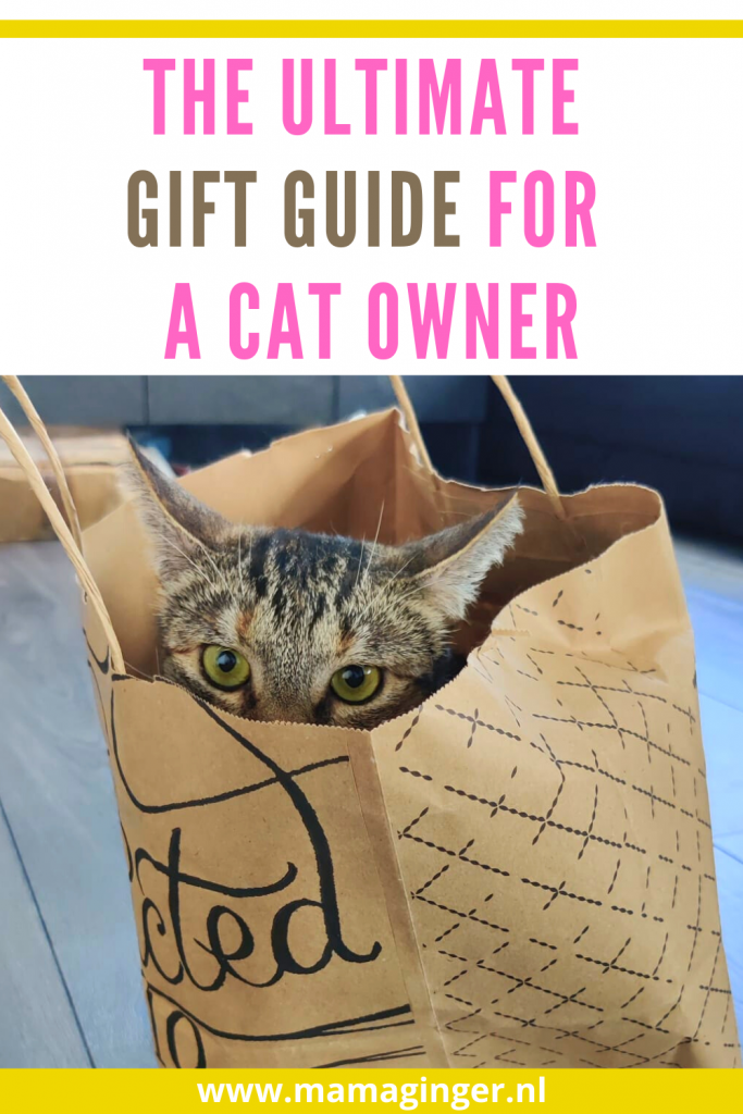 If you are a cat owner like me or looking for inspiration for a cat lover, you will love checking out this list of Ultimate Gift Guide For A Cat Owner. From cat themed board games, cute cat themed socks to cat house decorations.
