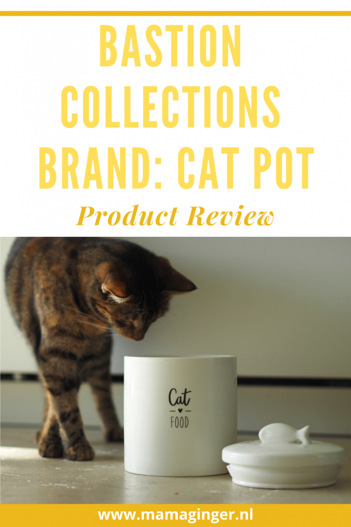 Bastion Collections Cat Pot Product Review www.mamaginger.nl #productreview #catpot #catproducts #mamaginger