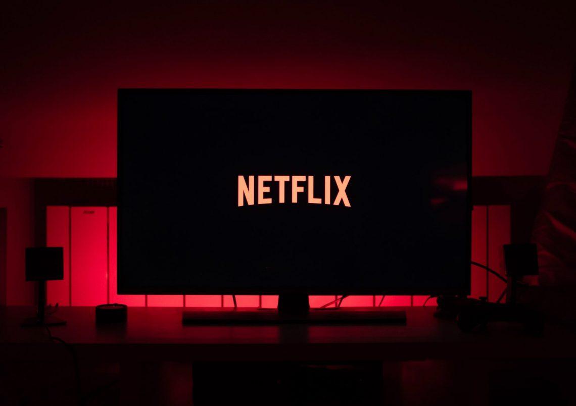 netflix software on the tv screen